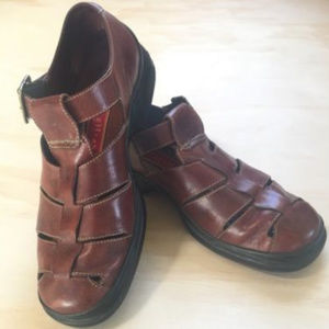 Cole Haan Country Mens Leather Fisherman Sandals